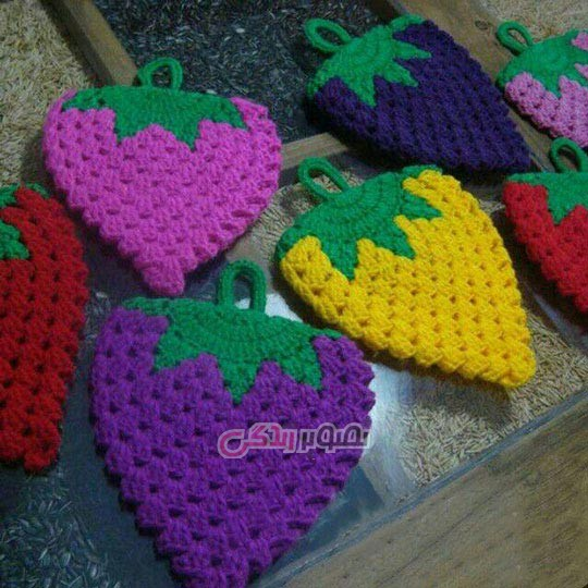 lemoo-Strawberry-sponges-crocheted-24