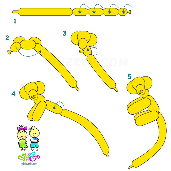 lemoo.ir-step-by-step-instructions-to-make-a-balloon-monkey